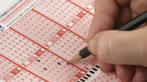 lottery entry ticket