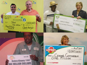 People with more than one top prize under their belt.