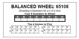 pick 6 wheel example
