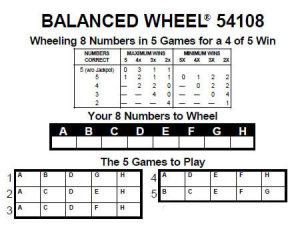 pick 5 wheeling system